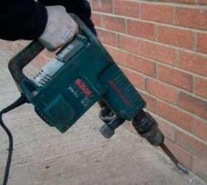 отбивка бетона