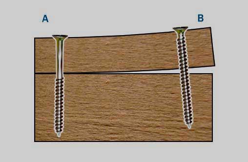 ремонт скрипа пола